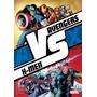 Versus Completo 01 A 08 Avengers Vs X-men Marvel Ovnipress