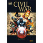 Marvel Deluxe Civil War Hc Español Avengers Iron Man