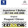 Inyectores Y Bulbos 207 308 408 3008 100% Original Peugeot