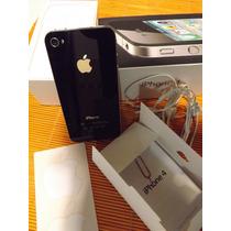 Iphone 4 16gb. Impecable En Caja Funda Film Cargador Clip