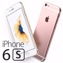 Apple Iphone 6s 64gb A9 3g 4g 3d Touch 4k - Nuevos En Caja