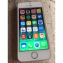 Iphone 5s 32gb Gold Dorado 4g Cargador Auriculares Y Fundas