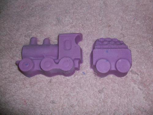 Jabon Infantil Locomotora Y Vagon X 10