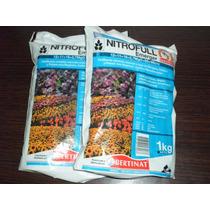 Fertilizante Complejo Nitrofull X 1kg Cesped Flores Arboles