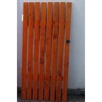 Cercos De Madera Perimetral Tranqueras Decks Puertas