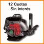 Sopladora Aspiradora Niwa Mochila Nafta 41cc 12 Cuotas S/int