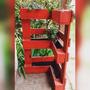 Huerta Vertical Hecha Con Pallets Para Esquina