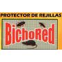 Bichored Protector De Rejillas Autoadhesivo 9x9cm Cucarachas