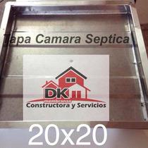 Tapa Camara Septica Inspeccion Cloaca 20 X 20 Cm