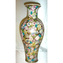 Jarron Oriental Multicolor Decorativo (772)