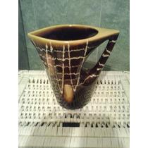 Jarra Antigua De Ceramica Retro Vintage