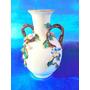 El Arcon Florero Antiguo Porcelana Ind Argentina 16cm 7105