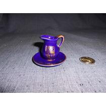 Jarra Jofaina Miniatura Porcelana ( Escudo De Mallorca)