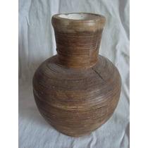 Florero Jarron Ceramica 20cm Rustico - Consulte Envio Gratis