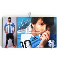 Porta Llaves Perchero Messi River Boca Independiente Racing