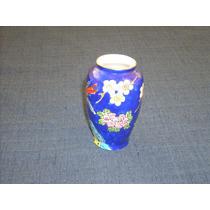Porcelana Decorada . Jarron - Florero Violetero