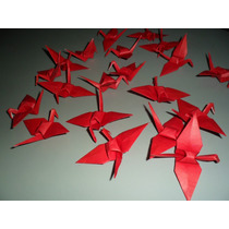 10 Grullas Adorno Origami Regalo Souvenirs Oferta Ahorro
