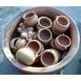 Cazuelitas Cazuelas Cactus Souvenirs De Barro Cocido X10