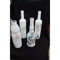 Botellas De Vidrio Reciclado*