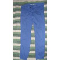 Pantalón De Jean Chupín Azul Para Mujer (mine Jeans)
