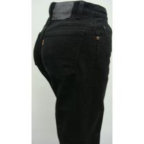 Levi`s 950 Usa Pantalon T3 Jean Elastizado Negro Cintura 68c