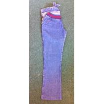 Pantalón Futura Mamá Semi Oxford De Jean Impecable Regalo