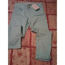 Pantalon Gabardina Nena Chupin Color Talle 5-6 H&m