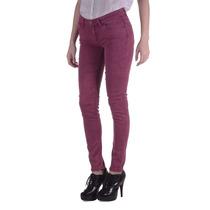 Jeans Lee Scarlett Color Gab Bordeaux Mujer (10128710545801)