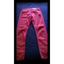 Jean Americanino - Color Rojo - Talle 30.