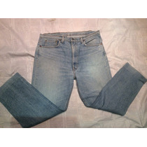 Pantalon De Jeans Levis Hombre 505 Talle W38 L32 Made In Usa