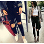 Jeans Rotos Importados !! Elastizados !!