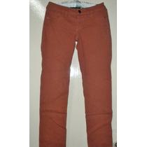 Pantalón Para Mujer Color Ladrillo