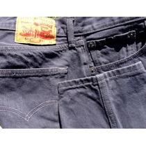 Jean Levi´s 501 Original Usa Gris Oscuro Para Hombre