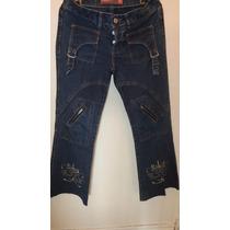 Jeans Oxfort Bordado