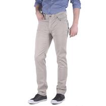 Lee Jeans Hombre Pantalon Gabardina Chupin (10116410204201)