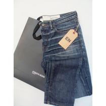 Jeans Chupin Hombre Marca Etiqueta Negra Original T:30 Leer