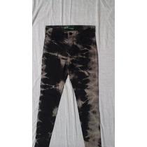 Pantalon De Jean De Mujer Marca E-land Talle 38