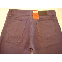 Jeans Levis Dama Varios Colores Gabardina - Elastiz./ Chupín