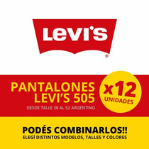 Jean Levis (levi`s) 505 - Precio Por Docena!