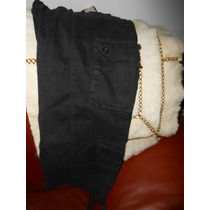 Cargo Negro Jean Mujer Calze Perfecto Talle 2