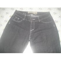 Pantalón Jean Mujer Talle 42 Estancias Chiripá Color Gris