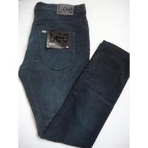Pantalon Lee Macky Corderoy Chupin Elastizado Super Rebajado