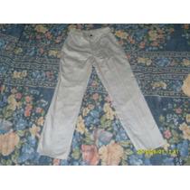 Pantalon De Vestir Talle 37/8.tiro Alto