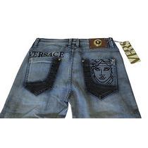 Jean Elastizado Versace !! Dolce Gabbana Y Armani, Únicos!!