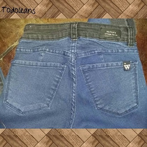 Jeans Mujer Two Colors By Color