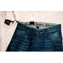 Calvin Klein Jean De Hombre Azul Importado U.s.a Talle 30