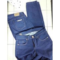 Jean Chupin Elastizado Color Azul Talles 26 28 34