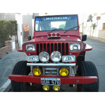 Jeep Willys Con Un Ford V8 Fase Ii Inyeccion.