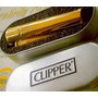 Encendedor Clipper Chispero Magiclick Bañado Baño Oro 18k