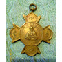 Antigua Medalla Religiosa- En Bronce